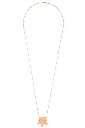 CAT LUCK Rosy Shapes Necklace