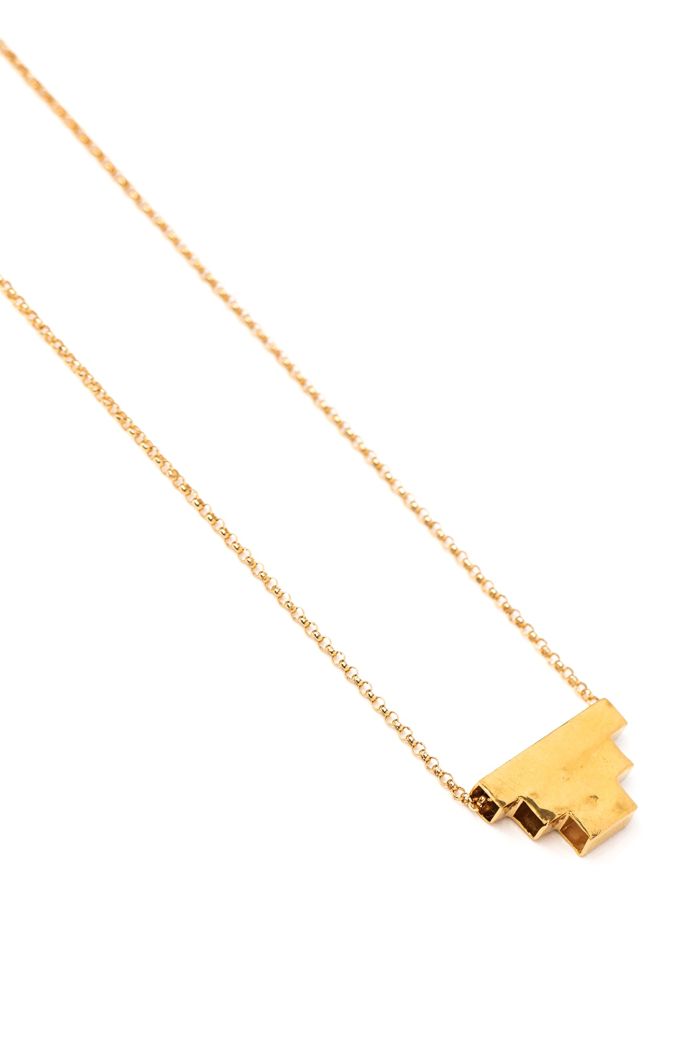 CAT LUCK Inverted Pyramid Necklace