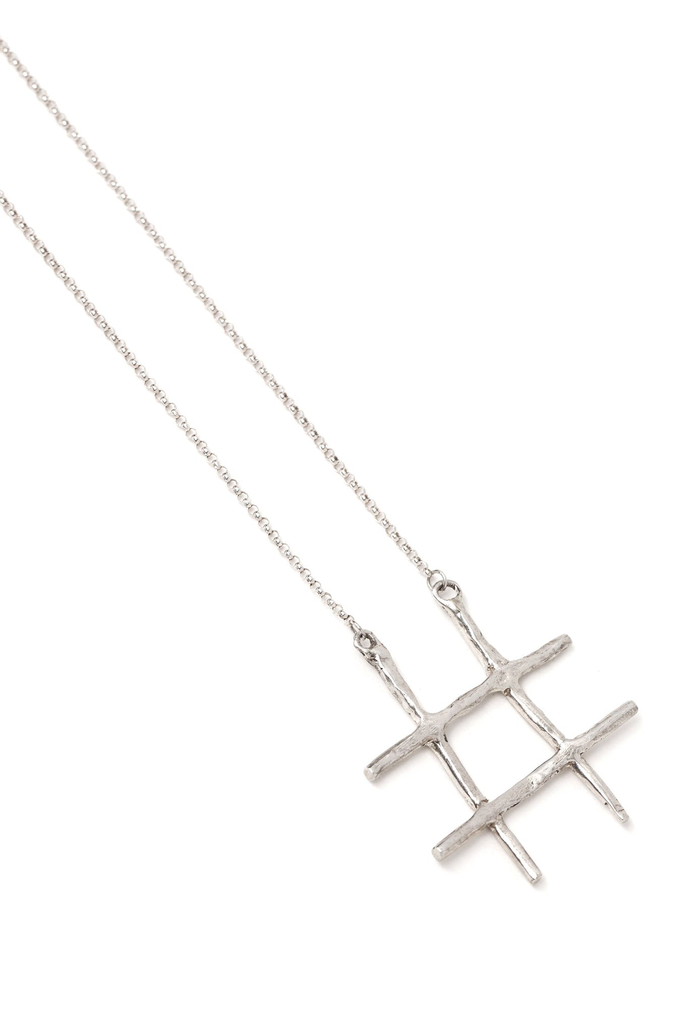 "CAT LUCK ""Tic-Tac-Toe"" Necklace"