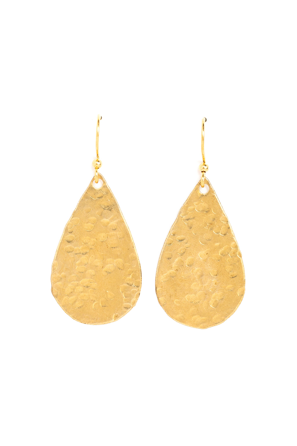 Medium Solid Teardrop Earrings