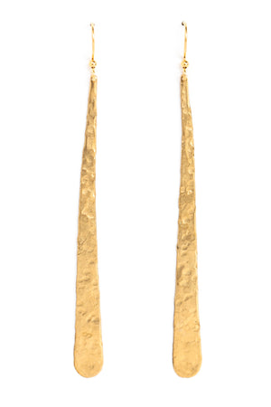 Large Slim Drop Earrings