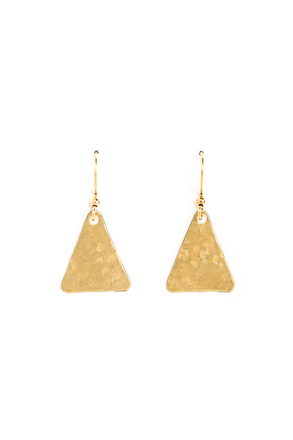 Equilateral Triangle Earrings