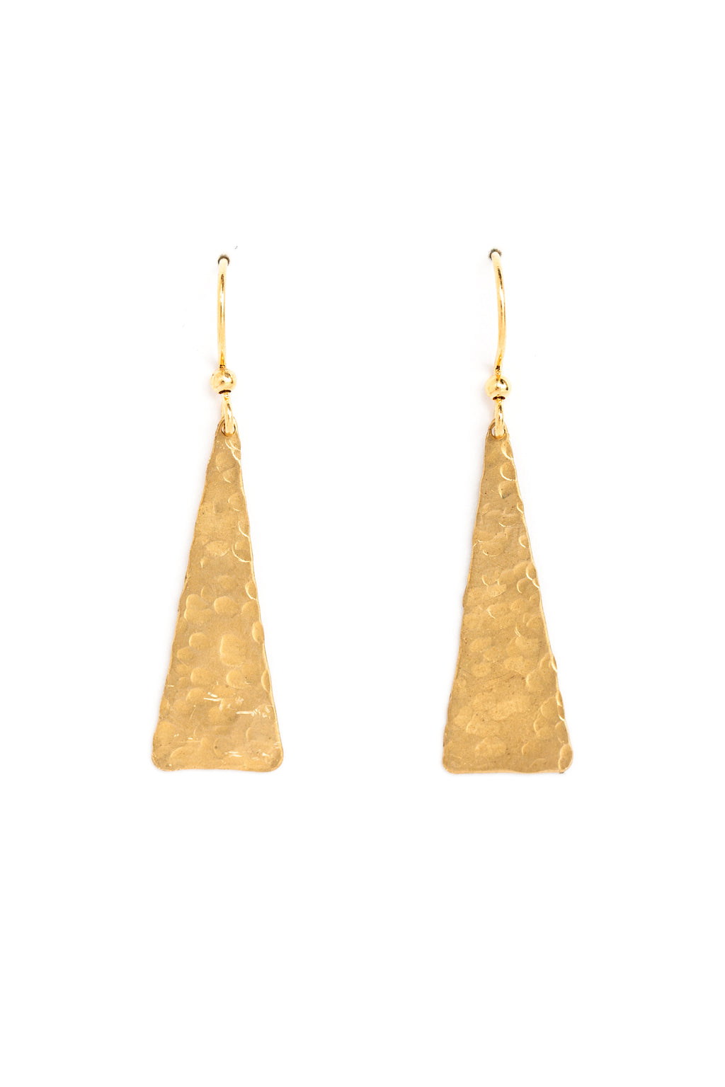 Small Solid Triangle Earrings