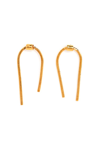 CAT LUCK Golden Arch Studs