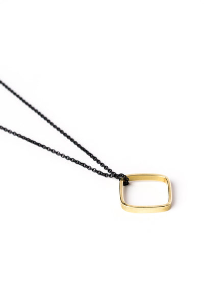 Skinny Square Necklace