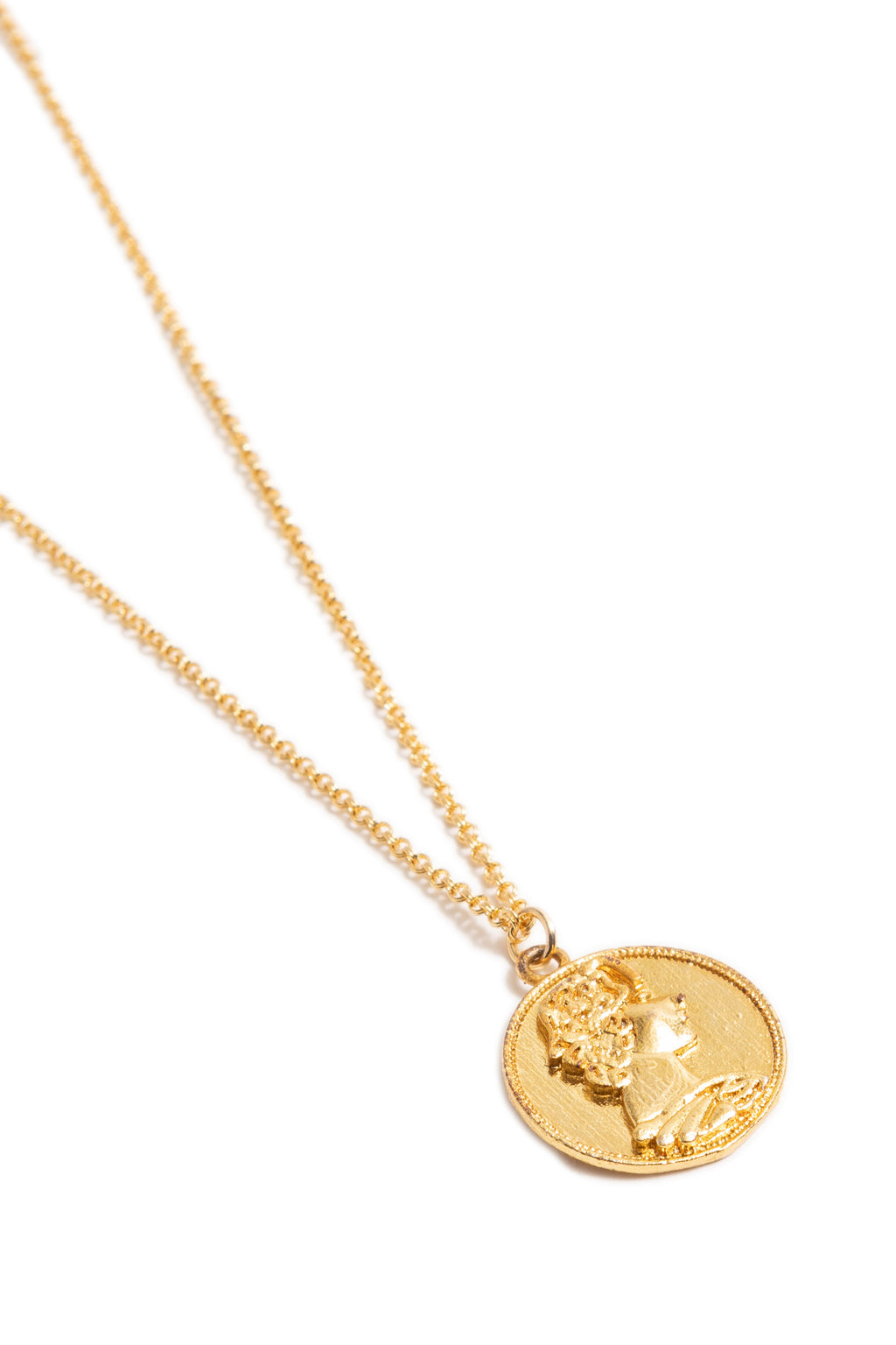 Lady Coin Necklace