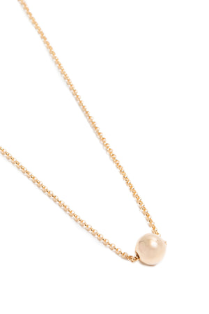 CAT LUCK Small 14K Gold Fill Orb Necklace