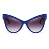 Womens Oversize Cat Eye Retro Sunglasses