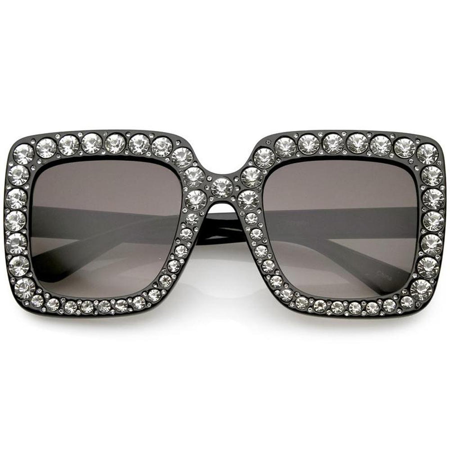 8091b21ce09 Oversize Glam Guccy Everything Chic Square Sunglasses