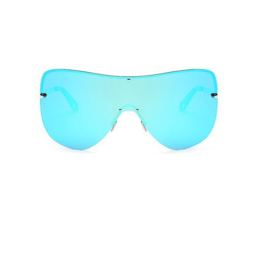 Riot Frame Oversized Sunglasses