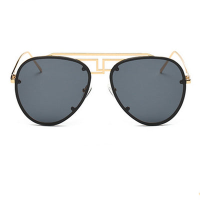 Fendi Frame Aviator Sunglasses - Sunglasses - Red Label Eyewear - redlabeleyewear.com
