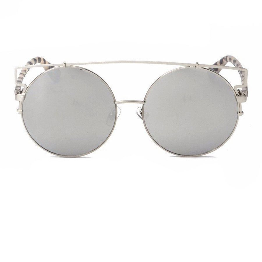 Oversized Round Jacob Frame Sunglasses