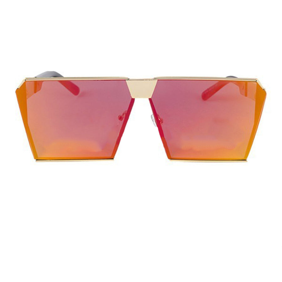 Oversized Flat Lens Sky Frame Sunglasses - Sunglasses - Red Label Eyewear - redlabeleyewear.com