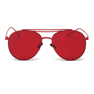 Retro Aviator Sunglasses - Sunglasses - Red Label Eyewear - redlabeleyewear.com