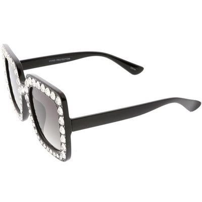 Oversize Glam Guccy Everything Chic Square Sunglasses
