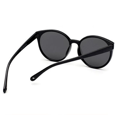 Oversize Classic Flat Mirrored Lens Sunglasses