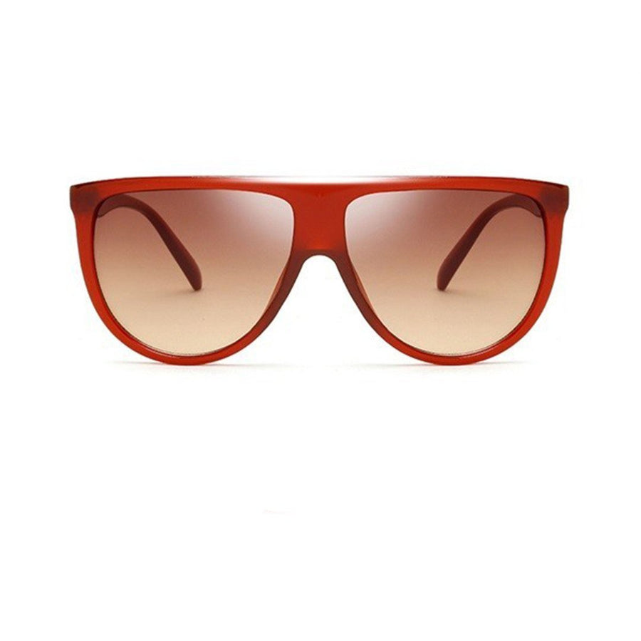 Couture Frame Oversized Sunglasses