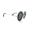 Designer Fashion Womens Round Sunglasses