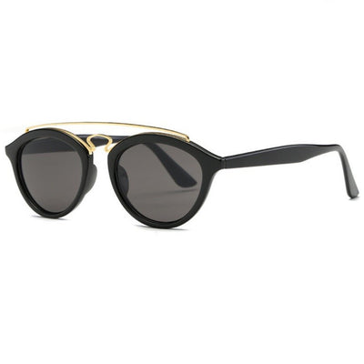 Double Bar Gatsby II Frame Aviator Sunglasses