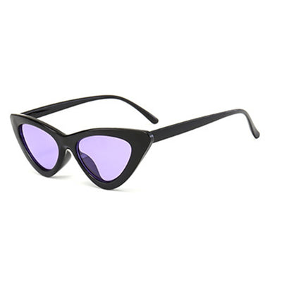 Women's High Fashion Retro Oval Cat Eye Sunglasses