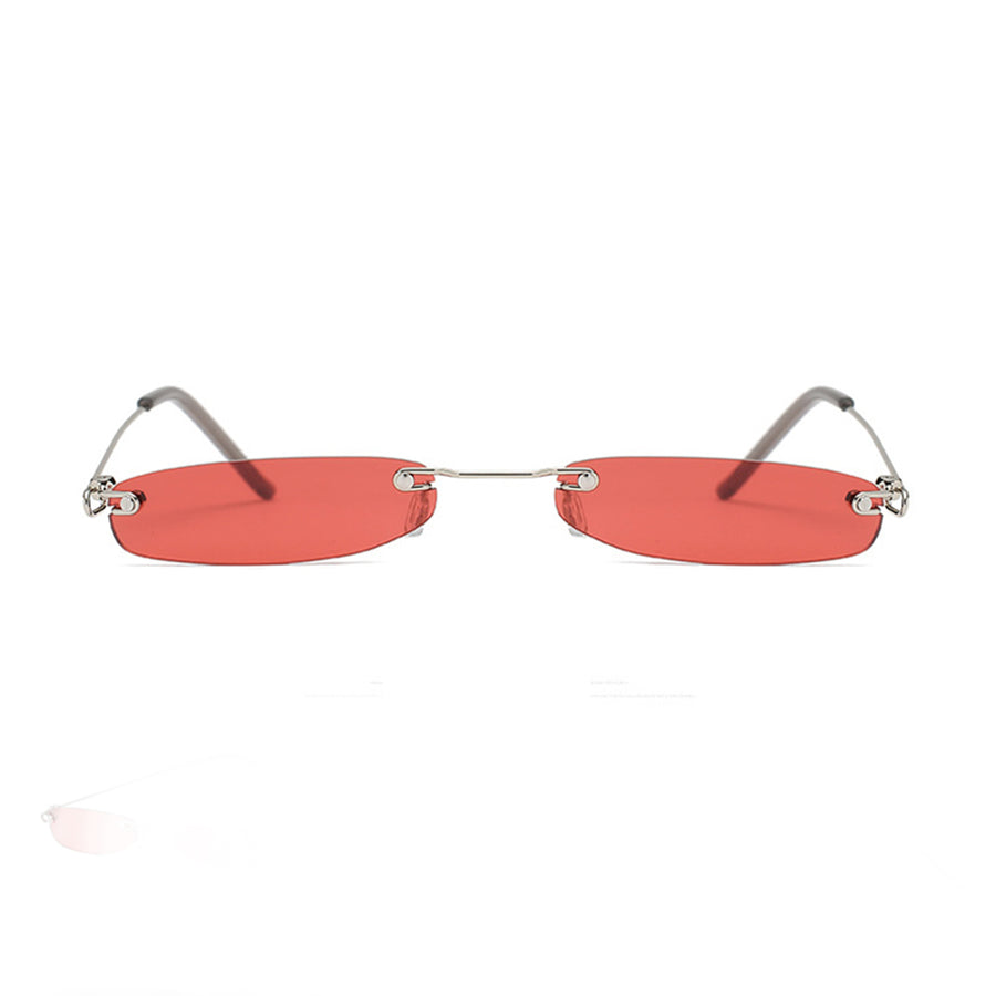 Retro 1990's Small Oval Classic Lens Sunglasses