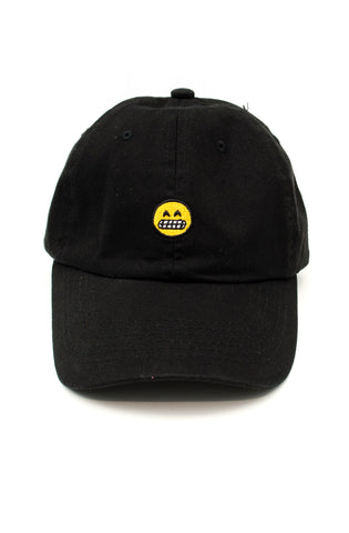 Smile Dad Hat in Black