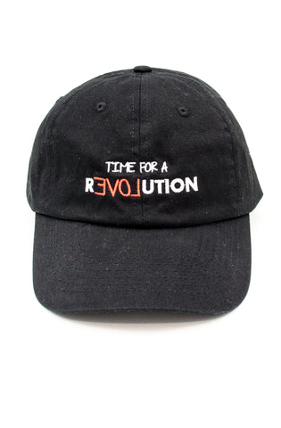 Revolution Dad Hat in Black