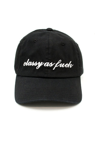 Classy Dad Hat in Black