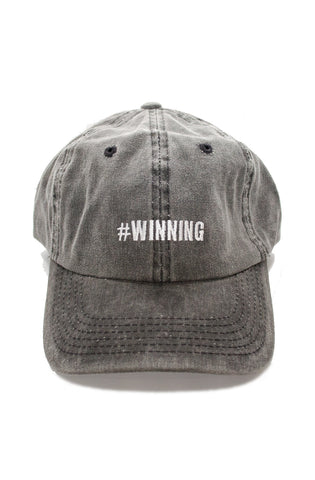 Winning Dad Hat in Gray