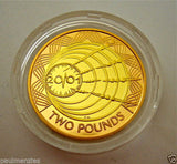 2001 GOLD PROOF FOUR COIN SET £5 £2 MARCONI SOVEREIGN 1/2 HALF SOVEREIGN