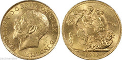 Coins:Coins:British:George V (1910-1936):Half-Sovereign