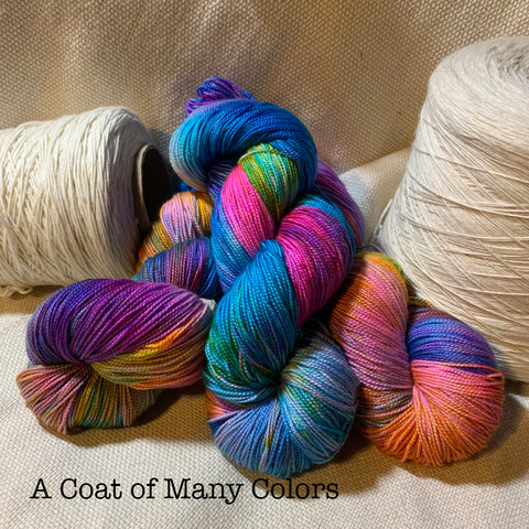 5th Ave - A Coat of Many Colors - Fingering Yarn