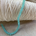 Strand of Blue/Green Beads 64 Beads 6.5mm