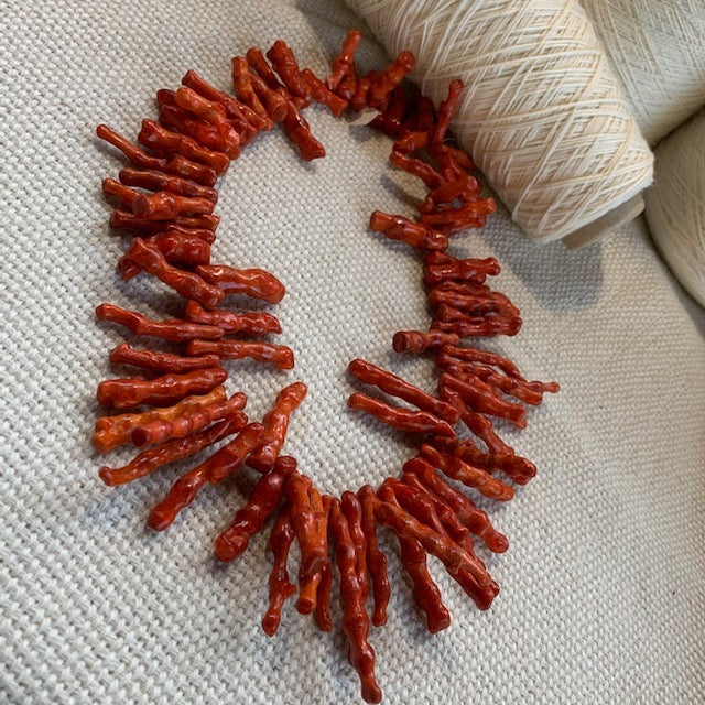 Red Coral Stranded Pieces 5.03 oz.