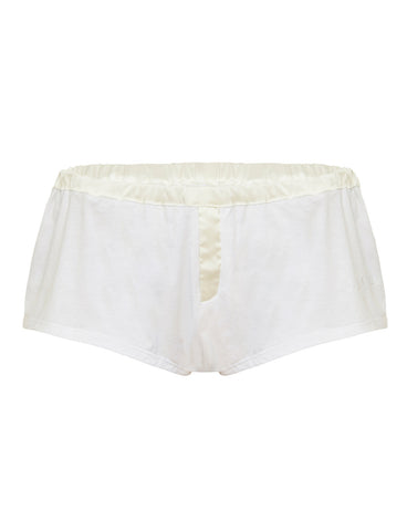 Womens Shortie White