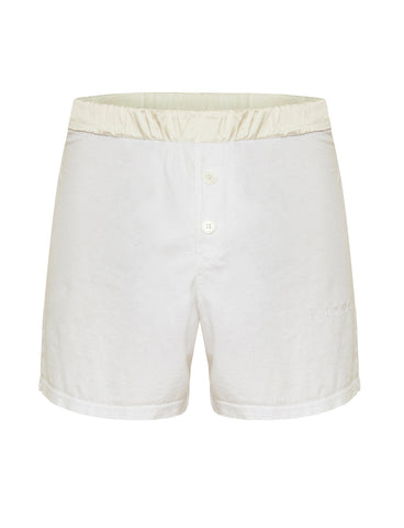 Mens Short White