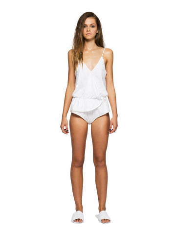 Womens Playsuit White