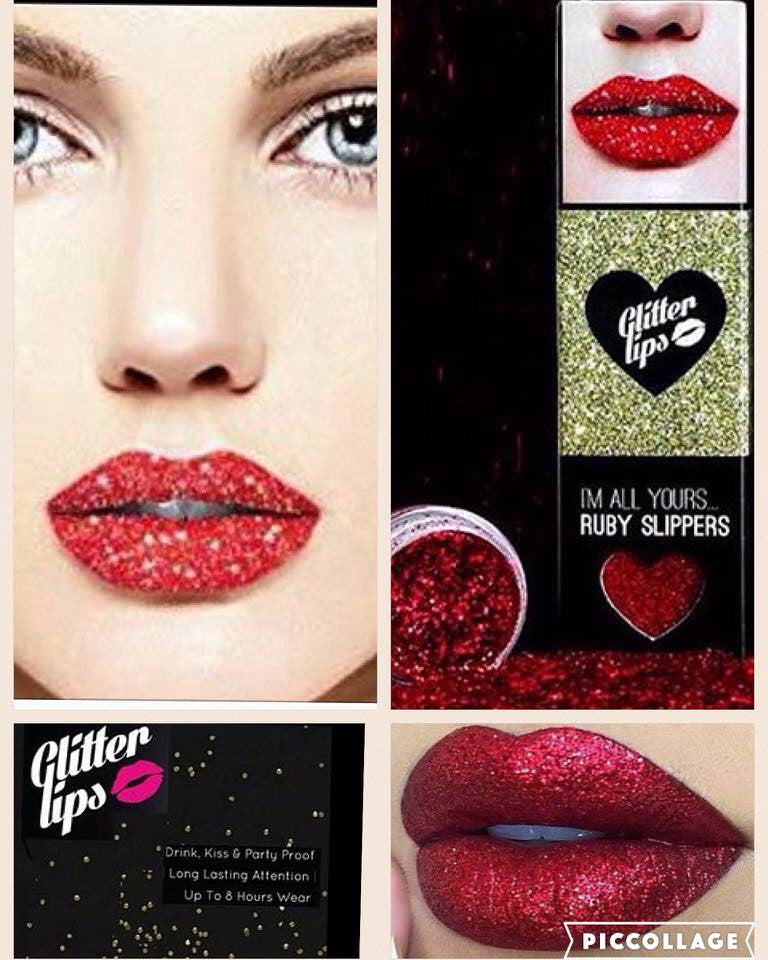 Its beginning to look a lot like xmas with our glitter lips !!