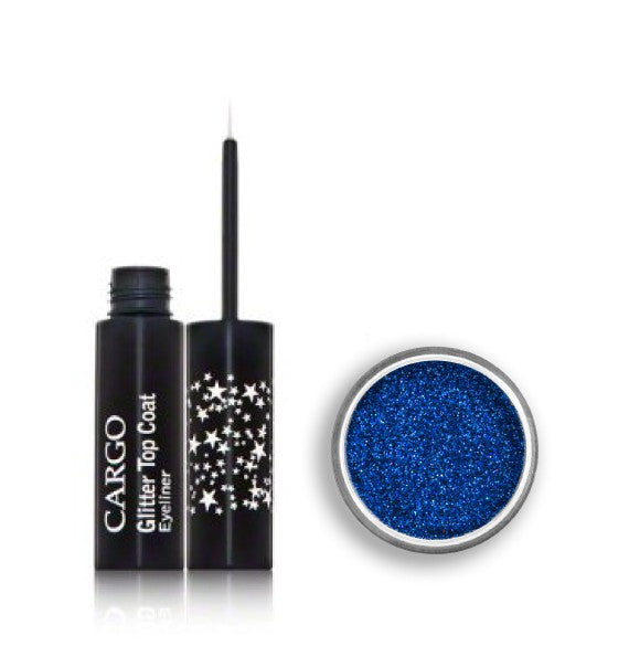 Glitter eyes to match your glitter lips anyone ?
