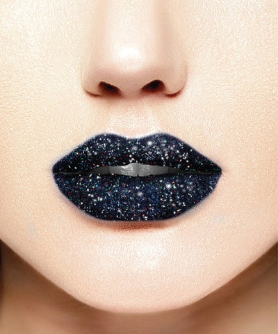 "Glitter Lips ""Dark Disorder"""