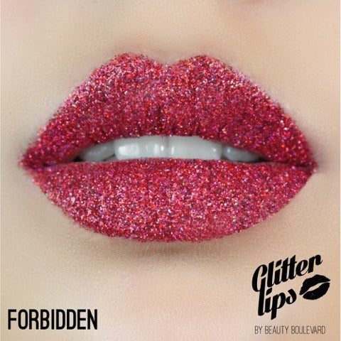 "Glitter Lips ""Forbidden"""