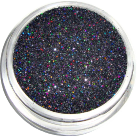 Holographic Glitter - Black