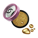 Gold Metallic Shimmer Eyeshadow - Gold Digger