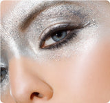 Silver Metallic Shimmer Eyeshadow - Tin Man