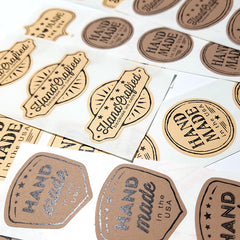 """Handmade in USA"" labels"
