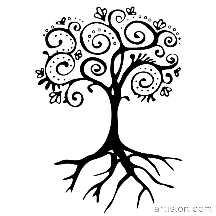 Hand Drawn Tree Of Life Artision