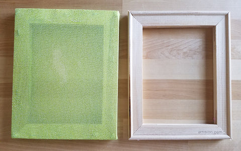 mold and deckle for papermaking