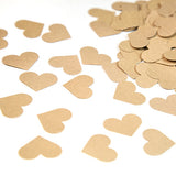 Rustic Wedding Heart Confetti