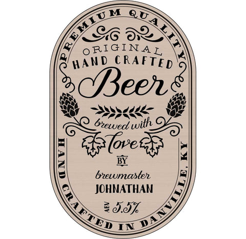 Labels for Beer Bottles