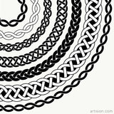 Celtic Knot Illustrator Brushes